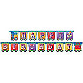 Big Top Circus Party Jointed Banner (each)