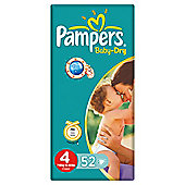 Pampers Baby Dry Economy Pack Maxi Plus 48 (size 4+)