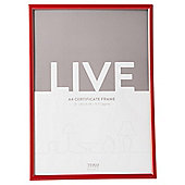 Tesco Basic Photo Frame A4, Red