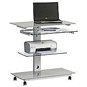 Maja 1648 Platinum Grey Computer Desk