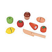 ELC Wooden Cut and Play Food Set