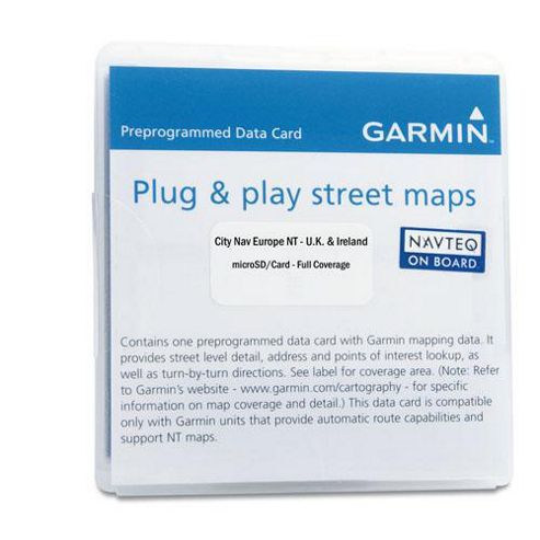 Garmin City Navigator Mexico Micro SD / SD Card.