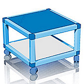 Module - Wheeled Cube Storage Shelf Unit - Blue