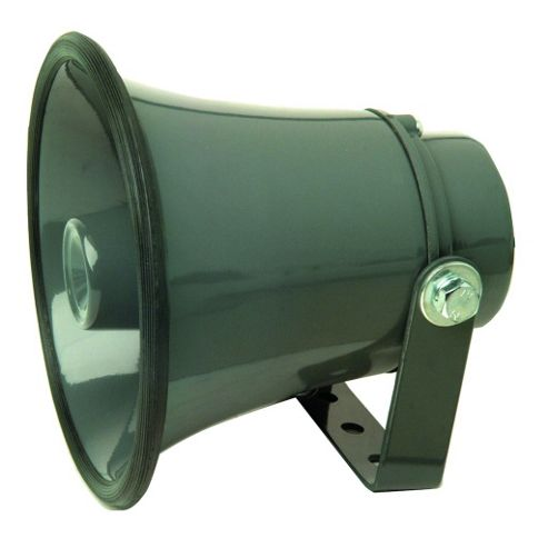 Maplin Grey 8 Ohm 15W Aluminium Horn Speaker