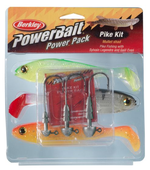 Berkley Powerbait Pike1 pro pack - 3pk