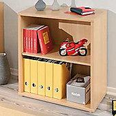 Cato - 2 Tier Storage Shelves / Bookcase - Beech