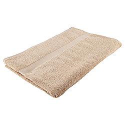 Tesco Basics Bath Sheet, Latte