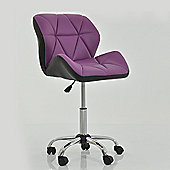 Peris Office Chair Purple with Black Under