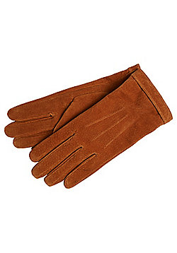 F&F Suede Gloves - Tan