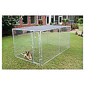 Petsafe Dog Boxed Kennel in Galvanised - 228.6cm (L) x 228.6cm (W) x 121.92cm (H)
