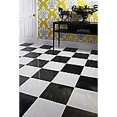 Nero Ceramic Floor Tile 331x331mm