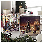 Tesco Warm Winter Scenes Christmas Cards, 10 Pack