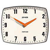 Jones Tornado clock