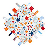 Dotty Fish Baby Comfort Tag Blanket - Lucky Stars