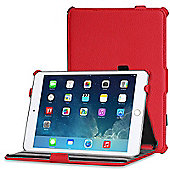 Apple iPad Mini 1 / 2 / 3 Red Leather Look Case Cover