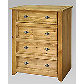 Home Essence Mendoza 4 Drawer Chest