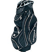 John Letters Unisex Torrance Golf Bag (Cart) in Black & White