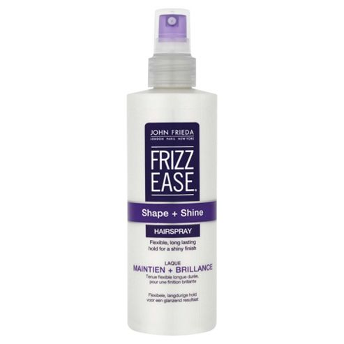 John Frieda Frizz Ease Shape and Shine Hairspray 250ml