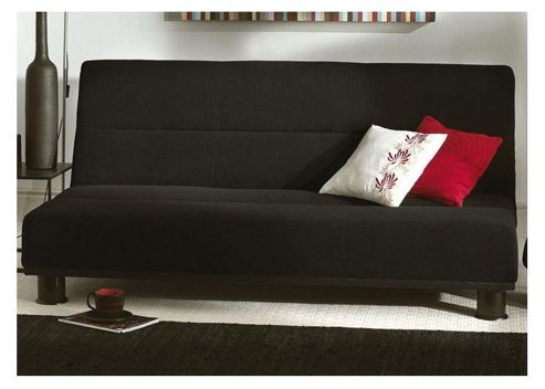 Limelight Triton Sofa Bed in Black