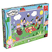 Ben and Holly's Little Kingdom - A Picnic With Friends Puzzle - 35 Pieces