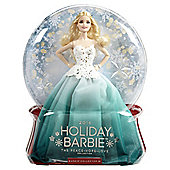 2016 Holiday Barbie Peace Hope Love Collection Doll Aqua Skirt