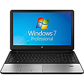 "HP 350 15.6"" Intel Core i3 Windows 7 Pro 4GB RAM 500GB Laptop Silver"