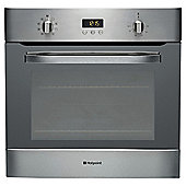 Hotpoint SH83CXS, Stainless Steel, Electric, Built-in, Single Cavity, Single Oven, 60cm