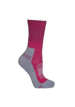 Trespass Ladies Bayton Sock - Fuchsia