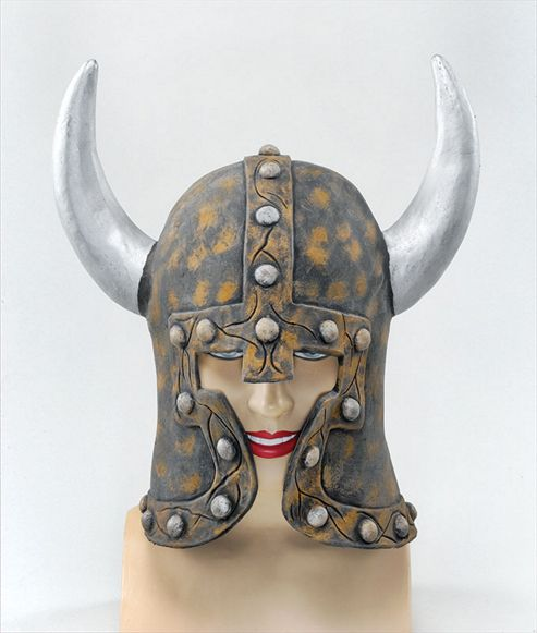 Warrior style Helmet + Horns