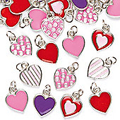 Heart Charms (Pack of 24)