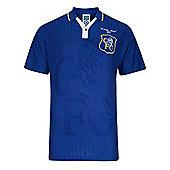 Chelsea 1997 FA Cup Final Shirt - Blue