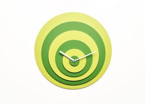 Progetti Target Wall Clock - Green