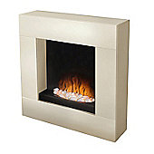 Adam Alton Fireplace Suite in Cream with Electric Fire