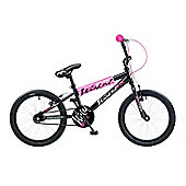 "Concept Wicked 20"" Kids' BMX Bike, Black"