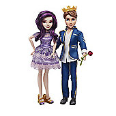 Disney Descendants Doll Two Pack - Mal & Ben