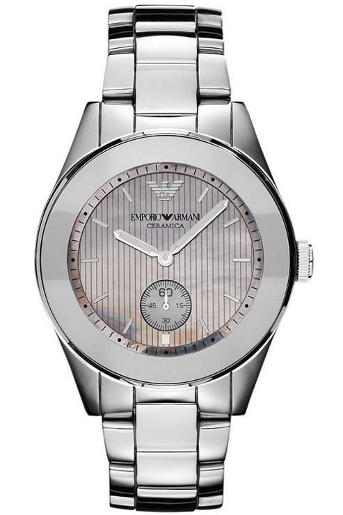 Emporio Armani Ladies Leo Ceramic Watch AR1463