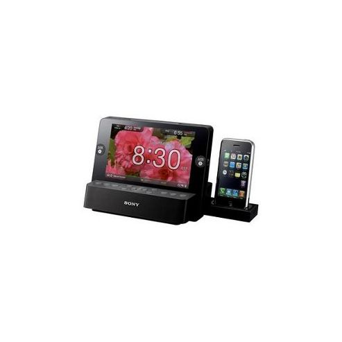 Sony iPod/iPhone 3G Dock Clock Radio
