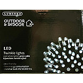 40 Multi Function LED Christmas Lights - Cool White