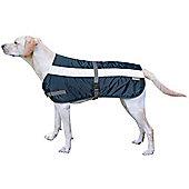 Flectalon Hi Viz Dog Coat Blue 45cm