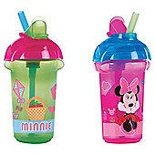Minnie Flip Straw Click Lock Cup