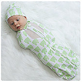 Woombie Elephant Air Cocoon Swaddle - 3 to 6 Months