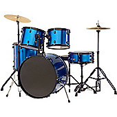 Stagg TIM122BBL 5 Piece 22in Drum Kit in Blue