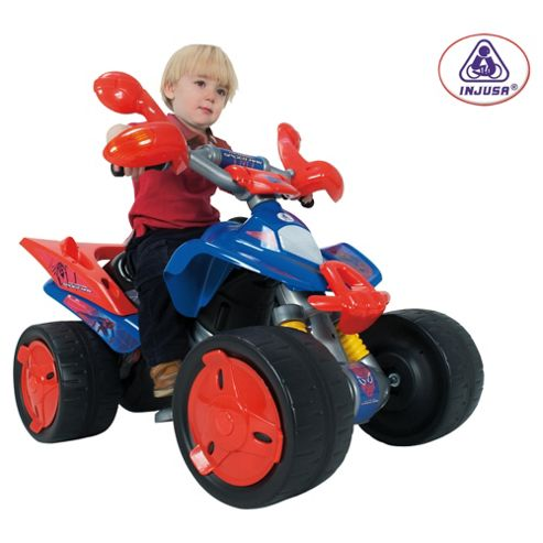 Marvel Spider-Man Quad 6V Ride-On