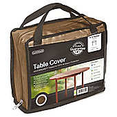 Gardman Premium Brown 4-6 Seater Round Table Cover