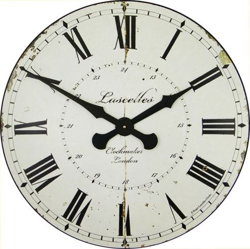 Roger Lascelles Clocks Large Clockmaker Wall Clock