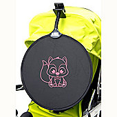 My Buggy Buddy Pink Fox Sun Shade Clip on