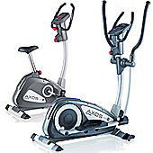 Kettler Cross M Cross Trainer & Cycle M Exercise Bike Package