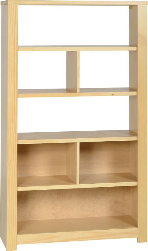 Home Essence Eclipse Bookcase / Display Unit - Oak