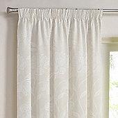 Julian Charles Freya Natural Luxury Jacquard Curtains -168cm x229cm