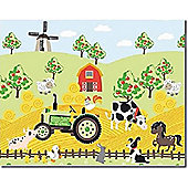 Apple Tree Farm Canvas Wall Art, 40 x 50 cm